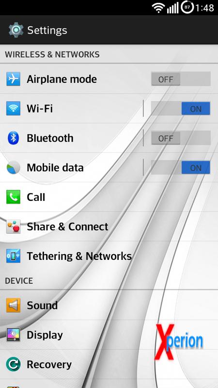 LG Optimus F6 Xperion ROM