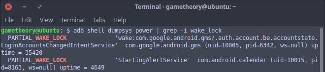 Android Wakelocks