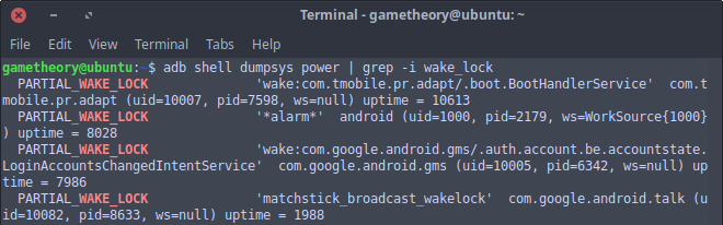 Android Wakelocks