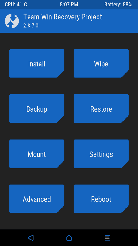 LG G Stylo TWRP Recovery