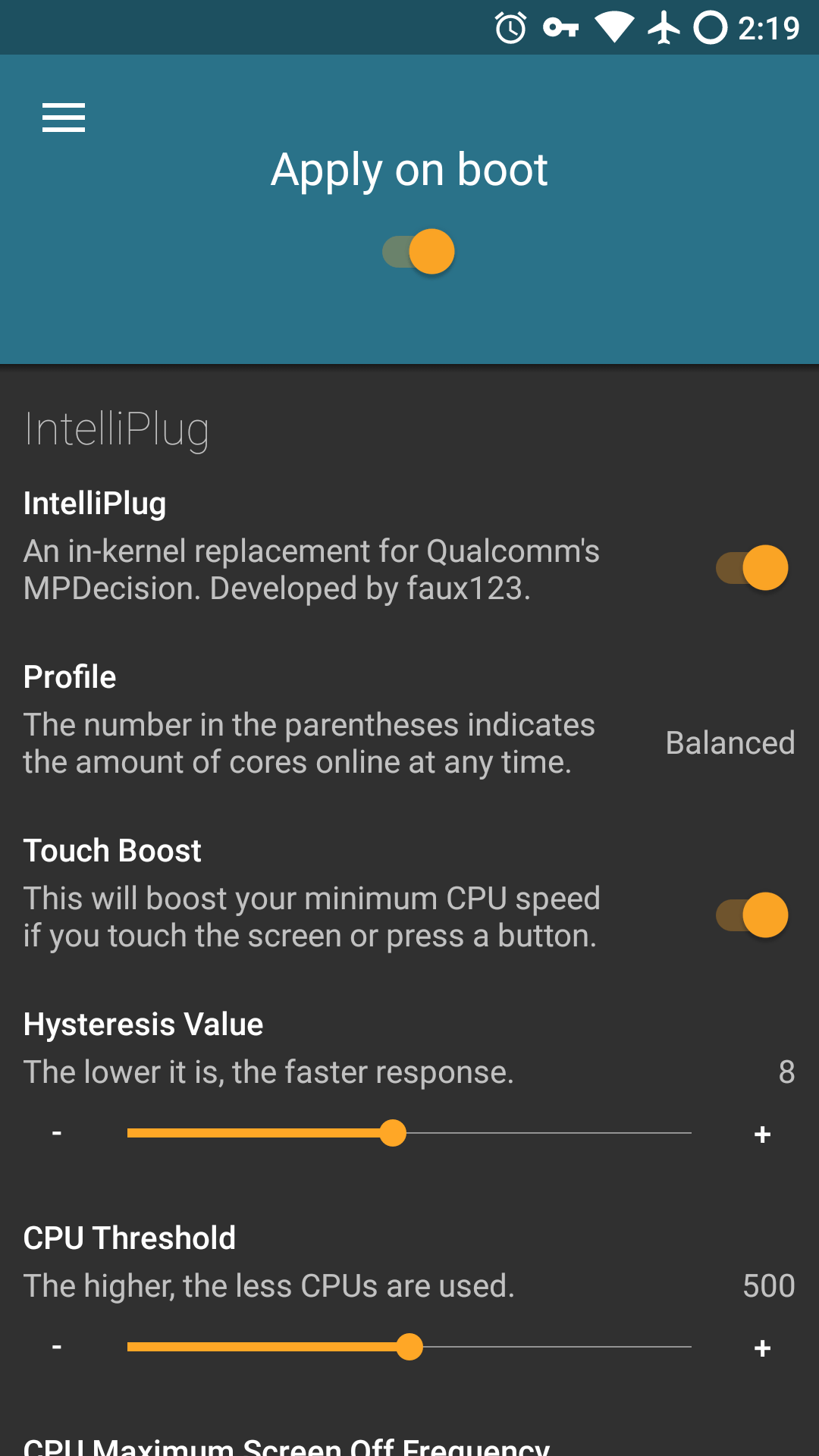 Freedom Kernel for the Zmax Pro